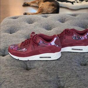 Shoes - Net-A-Porter Nike floral air max custom